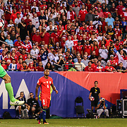 Panama Keeper JAIME PENEDO (1) makes a save in the second half of a Copa America Centenario Group D match between the Chile and Panama Tuesday, June. 14, 2016 at Lincoln Financial Field in Philadelphia, PA.