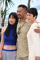 Tian Zhu Ding (A Touch Of Sin) film photocall at the Cannes Film Festival 17th May 2013