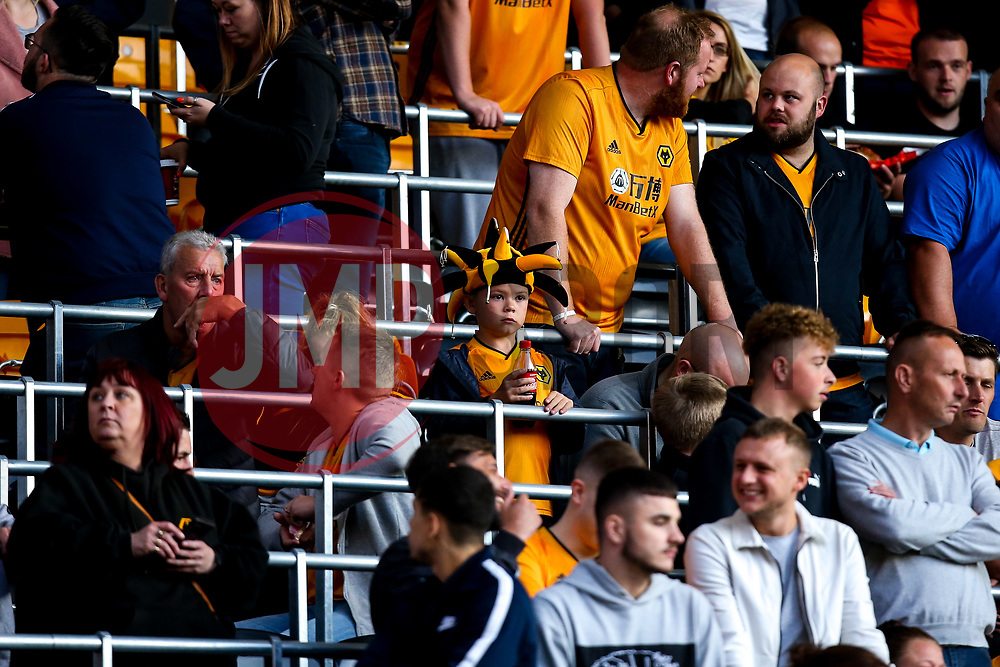 Wolverhampton Wanderers fans - Mandatory by-line: Robbie Stephenson/JMP - 19/08/2019 - FOOTBALL - Molineux - Wolverhampton, England - Wolverhampton Wanderers v Manchester United - Premier League