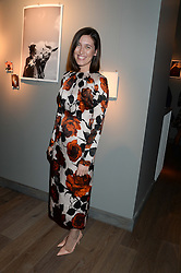 EMILIA WICKSTEAD at Harper's Bazaar & Viva Model Management London opening of a Self-Portraits exhibition at the Moretti Galery, Ryder Street, London on 3rd September 2013.