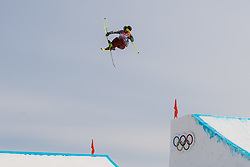 February 18, 2018 - Pyeongchang, SOUTH KOREA - 180218 McRae Williams of USA competes in the Men's Slopestyle Qualification during day nine of the 2018 Winter Olympics on February 18, 2018 in Pyeongchang..Photo: Petter Arvidson / BILDBYRÃ…N / kod PA / 91979 (Credit Image: © Petter Arvidson/Bildbyran via ZUMA Press)