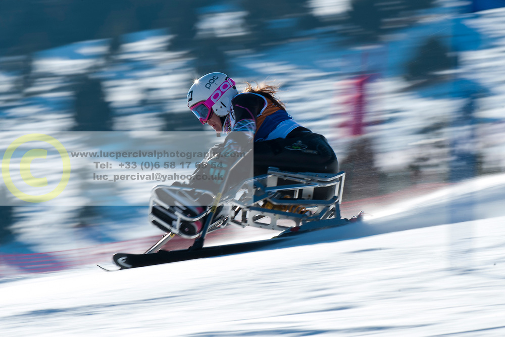 LOESCH Claudia, AUT, Giant Slalom, 2013 IPC Alpine Skiing World Championships, La Molina, Spain