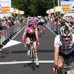 Ladiestour 20007 Berg en Terblijt <br />Marianne Vos wint de etappe voor Judith Arndt