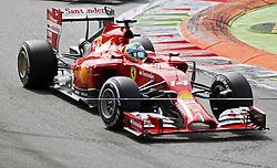 07.09.2014, Autodromo di Monza, Monza, ITA, FIA, Formel 1, Grand Prix von Italien, Renntag, im Bild Fernando Alonso from Ferrari // during the race day of Italian Formula One Grand Prix at the Autodromo di Monza in Monza, Italy on 2014/09/07. EXPA Pictures © 2014, PhotoCredit: EXPA/ Eibner-Pressefoto/ Cezaro<br /> <br /> *****ATTENTION - OUT of GER*****