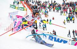 26.01.2020, Streif, Kitzbühel, AUT, FIS Weltcup Ski Alpin, Slalom, Herren, 2. Lauf, im Bild Victor Muffat-Jeandet (FRA) // Victor Muffat-Jeandet of France in action during his 2nd run in the men's Slalom of FIS Ski Alpine World Cup at the Streif in Kitzbühel, Austria on 2020/01/26. EXPA Pictures © 2020, PhotoCredit: EXPA/ Johann Groder