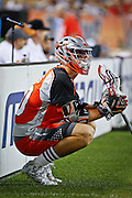 DENVER, CO - JULY 4:  Jeremy Sieverts #20 of the Denver Outlaws watches from the sidelines during their MLL game against the Boston Cannons at Sports Authority Field at Mile High on July 4, 2015 in Denver, Colorado. (Photo by Marc Piscotty/Getty Images) *** Local Caption *** Jeremy Sieverts