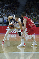 March 10, 2017 - Madrid, Madrid, Spain - Luka Doncic  of Real Madrid in action during the 2016/2017 Turkish Airlines EuroLeague Regular Season Round 25 game between Real Madrid v Crvena Zvezda mts Belgrade at Wizink Center on March 10, 2017 in Madrid, Spain. Photo: Oscar Gonzalez/NurPhoto  (Credit Image: © Oscar Gonzalez/NurPhoto via ZUMA Press)