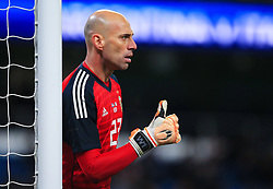 Willy Caballero of Argentina gives a thumbs up - Mandatory by-line: Matt McNulty/JMP - 23/03/2018 - FOOTBALL - Etihad Stadium - Manchester, England - Argentina v Italy - International Friendly