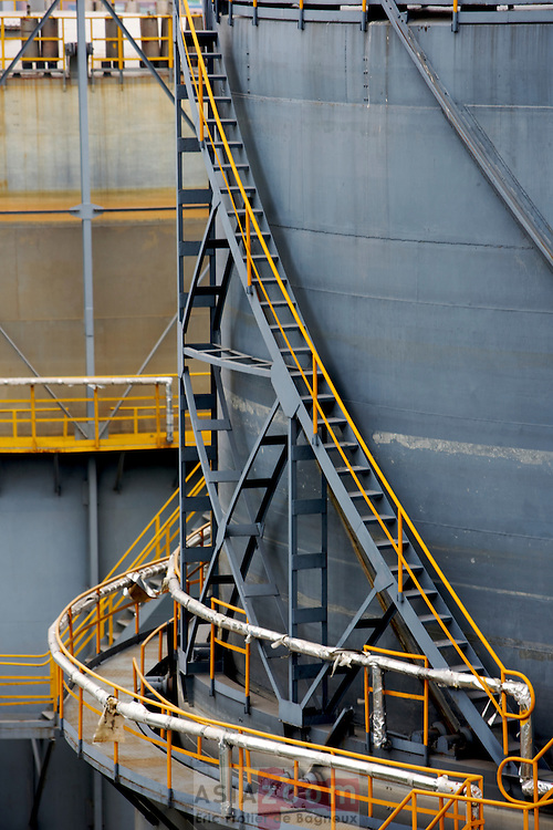 Detail at Qingdao Waste Water Plant, CHina 2007