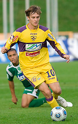 Rene Mihelic of Maribor at 13th Round of Prva Liga football match between NK Olimpija and Maribor, on October 17, 2009, in ZAK Stadium, Ljubljana. Maribor won 1:0. (Photo by Vid Ponikvar / Sportida)