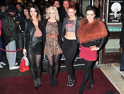 © under license to London News Pictures. 11/03/2011. The Ulra Girls Attends the press night of The Hurly Burly Show at the Garrick Theatre London . Photo credit should read Alan Roxborough/LNP