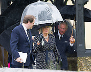 Camilla & Prince Charles Attend Mark Shand Funeral 2