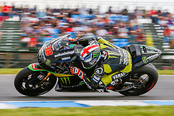 © Licensed to London News Pictures. 20/10/2012. Bradley Smith (GBR) riding for the Monster Yamaha Tech 3  during the Race day of the round 16 2013 Tissot Australian Moto GP at the  Phillip Island Grand Prix Circuit Victoria, Australia. Photo credit : Asanka Brendon Ratnayake/LNP