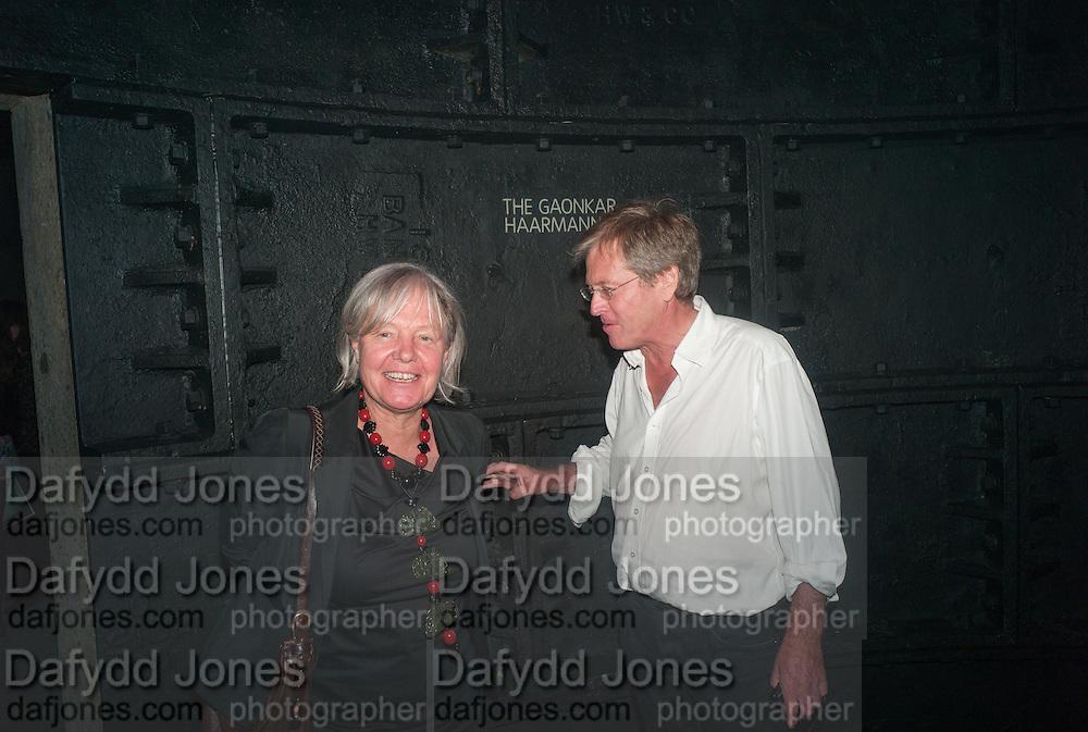 MARY MOORE; JOHN PAWSON, The Tanks at Tate Modern, opening. Tate Modern, Bankside, London, 16 July 2012
