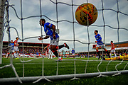 Rangers Jermain Defoe doubles his sides lead with a close range goal during the Ladbrokes Scottish Premiership match between Hamilton Academical FC and Rangers at The Hope CBD Stadium, Hamilton, Scotland on 24 February 2019.