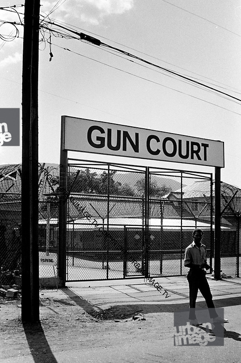 Gun Court Jamaica's place of Indefinite Detention - Kingston Jamaica 1973