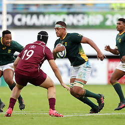 Salmaan Moerat of South Africa  during the U20 World Championship match between South Africa and Georgia on May 30, 2018 in Perpignan, France. (Photo by Manuel Blondeau/Icon Sport)