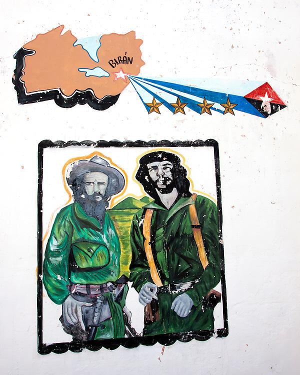 Che and Camilo in Cueto, Holguin, Cuba.