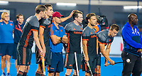 BHUBANESWAR, INDIA -  Seve van Ass (Ned),    tijdens de  finale tussen België en Nederland bij het WK Hockey heren in het Kalinga Stadion. COPYRIGHT KOEN SUYK