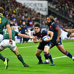 Anthony Belleau of France during the test match between France and South Africa at Stade de France on November 18, 2017 in Paris, France. (Photo by Dave Winter/Icon Sport)