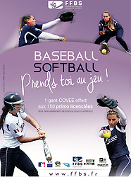 Softball advertisement campaign 2017.