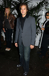 Actor & dancer WILL KEMP at a party to celebrate the launch of Jo Malone's new fragrance 'Blue Agava & Cacao' held at the Covent Garden Film Studios, 10 Mercer Street, London WC2 on 5th October 2006.<br /><br />NON EXCLUSIVE - WORLD RIGHTS