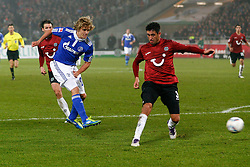 06.11.2011, AWD-Arena, Hannover, GER, 1.FBL, Hannover 96 vs FC Schalke 04, im Bild Teemu Pukki (Schalke #20) trifft zum 2 zu 2 .// during the match from GER, 1.FBL, Hannover 96 vs  FC Schalke 04 on 2011/11/06, AWD-Arena, Hannover, Germany. .EXPA Pictures © 2011, PhotoCredit: EXPA/ nph/  Schrader       ****** out of GER / CRO  / BEL ******