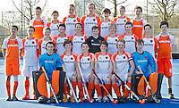 UTRECHT - Nederlands Jongens B. Foto Koen Suyk