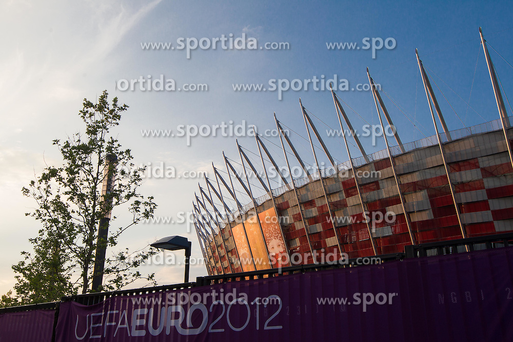 National football stadium in Warsaw a day before the beginning of Euro 2012 Poland-Ukraine, on June 7, 2012 in Warsaw, Poland. (Photo by Vid Ponikvar / Sportida.com)