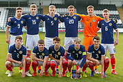 Scotland Squad during the U17 European Championships match between Scotland and Russia at Simple Digital Arena, Paisley, Scotland on 23 March 2019.