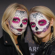 Celebrity attends Day of the Dead at Leicester Square Kitchen