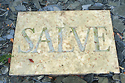 Salve, Grab, Historischer Friedhof, Weimar, Thüringen, Deutschland | tomb, Historical Graveyard, Weimar, Thuringia, Germany