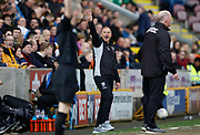 Gillingham Manager Steve Lovell during the EFL Sky Bet League 1 match between Bradford City and Gillingham at the Northern Commercials Stadium, Bradford, England on 24 March 2018. Picture by Paul Thompson.