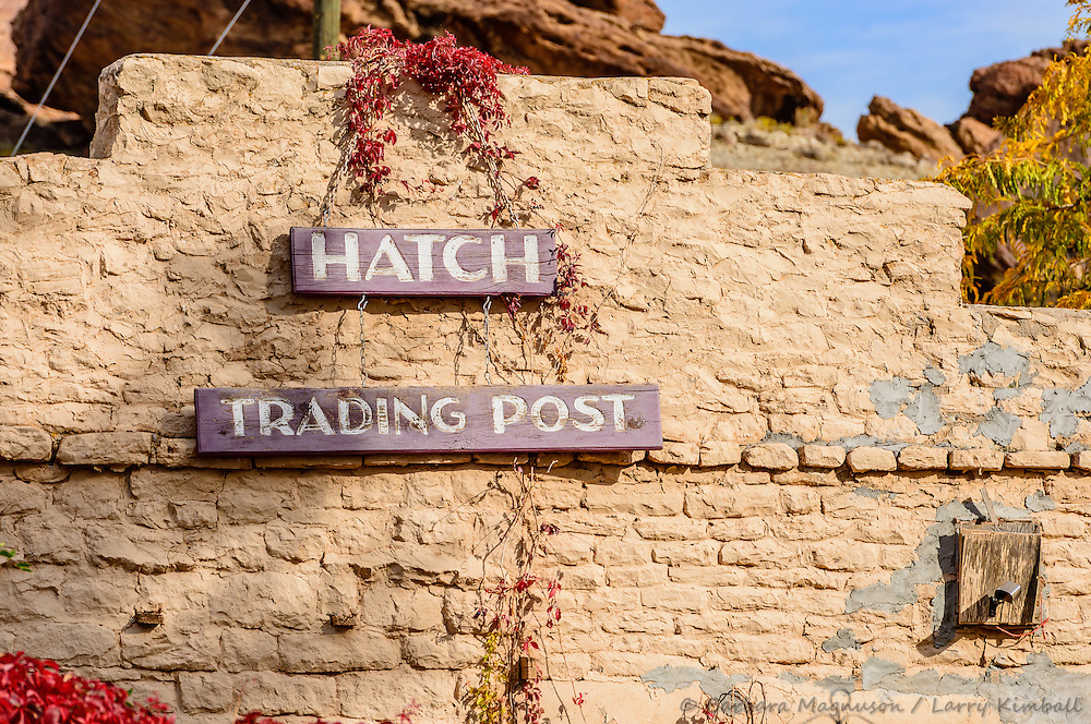 Hatch Trading Post facade; UT