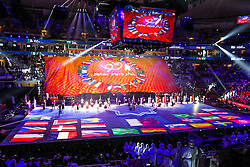 15-01-2015 QAT: IHF Handball World Championship, Doha<br /> during the opening ceremony of the IHF Handball World Championship at the Lusail Multipurpose Hall, Lusail, Qatar<br /> ***NETHERLANDS ONLY***