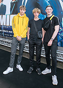 2019, June 17. Pathe ArenA, Amsterdam, the Netherlands. Axel, Cody Boss and Tim Bijlhout at the dutch premiere of Men In Black International.