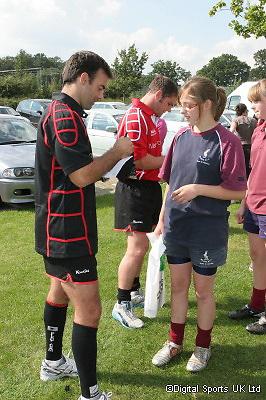 Saracens Summer Kicking Camp..Old Albanians RFC..