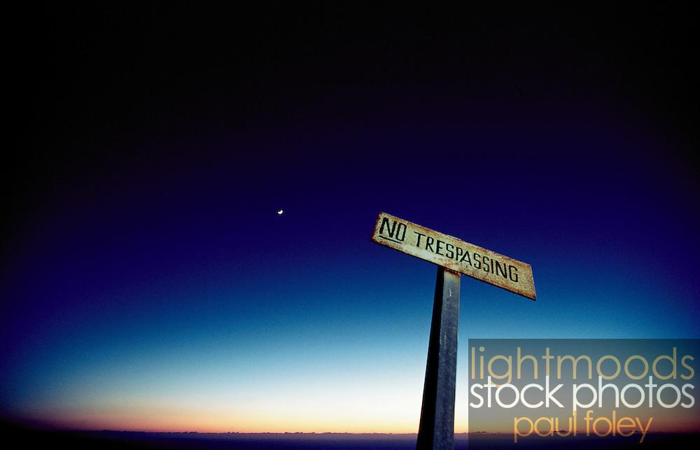No Trespassing, Oregon, USA