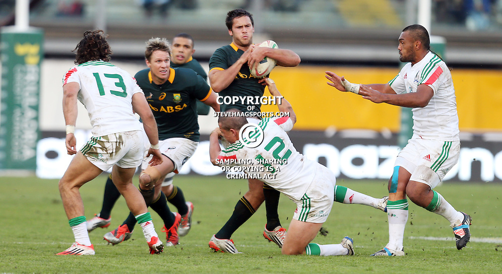 PADUA, ITALY - NOVEMBER 22:  during the Castle Lager Outgoing Tour match between Italy and South African at Stadio Euganeo on November 22, 2014 in Padua, Italy. (Photo by Steve Haag/Gallo Images)