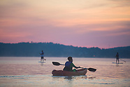 Claytor-paddleboarding
