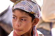 Enrique Hernandez Juarez, 6, entered the United States illegally from Mexico at the Arizona border with his mother and other family.