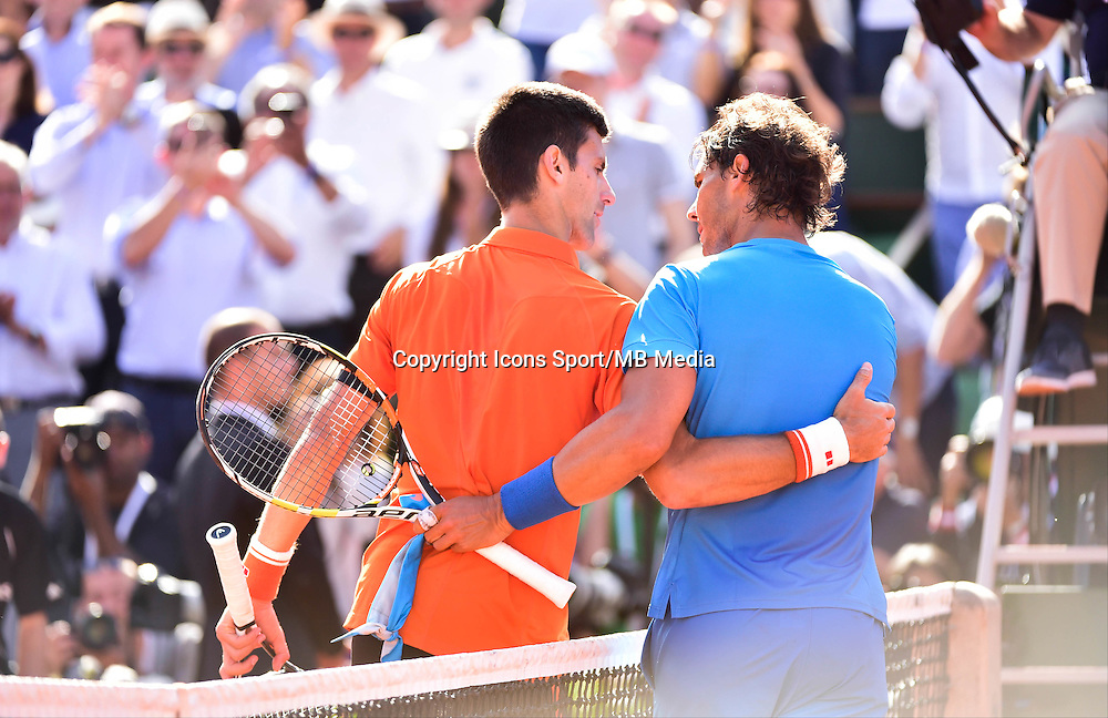 Novak DJOKOVIC / Rafael NADAL - 03.06.2015 - Jour 11 - Roland Garros 2015 <br />