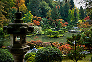 Seattle's Japaness garden in Washington Park is one of the most popular in the US.