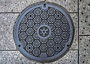 Kyoto, Japan Manhole