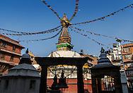 Kathesimbhu Stupain the afternoon light