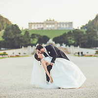 After Wedding Shooting Schloss Schönbrunn