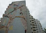 SAGA Das belebteste Haus<br /> <br /> Die Saga GWG kann auch sozial. Wie hier in der Lenzsiedlung unterstützt sie in<br /> vielen Stadtteilen soziale Projekte. Das Bürgerhaus Lenzsiedlung würde es<br /> ohne die Saga so nicht geben. 1978 hat sie hier den ersten Gebäudeteil gebaut. Hamburg 24.05.2012 .