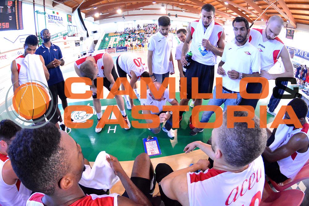 DESCRIZIONE : Porto Sant Elpidio Trofeo della Calzatura Acea Virtus Roma Vs Pesaro<br /> GIOCATORE : team virtus roma<br /> CATEGORIA : time out<br /> SQUADRA : Acea Virtus Roma - Pesaro<br /> EVENTO : Trofeo della Calzatura 2014<br /> GARA : Acea Virtus Roma Pesaro<br /> DATA : 28/09/2014<br /> SPORT : Pallacanestro<br /> AUTORE : Agenzia Ciamillo-Castoria/M.Greco<br /> Galleria : Lega Basket A 2014-2015<br /> Fotonotizia : Porto Sant Elpidio Trofeo della Calzatura Acea Virtus Roma  Vs Pesaro<br /> Predefinita :