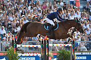 Paris, France : Sameh El Dahan riding Suma's Zorro during the Longines Paris Eiffel Jumping 2018, on July 5th to 7th, 2018 at the Champ de Mars in Paris, France - Photo Christophe Bricot / ProSportsImages / DPPI