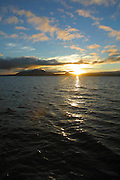Sunrise, Lake Taupo. North Island, New Zealand<br />